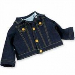 Newborn-Outfit Denim Jacket