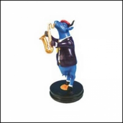 Cow Blues Figurine