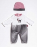 PlayTime Acc - Zebra Stripes Outfit