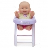 Lots to Love-Baby Doll in High Chair