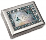 Love Because of You - Jeweled Silver Music Box