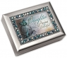 Daughter Precious - Jeweled Silver Music Box