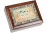 Mother the Gift - Jeweled Woodgrain Music Box