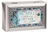 Be Still and Know- Jeweled Silver Petite Music Box