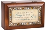May You Find The Courage - Jeweled Woodgrain Petite Music Box