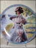 Enesco- Plate Barbie as Gibson Girl