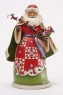 Christmas Miracles Are In Your Grasp-Santa Holding Sleigh Figurine
