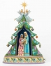 Rejoice In His Birth-Holy Family Nativity Musical Masterpiece Figurine