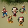 Disney-Ornaments Fab Five