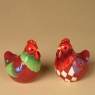 Salt and Pepper Seet-Rooster and Hen
