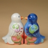 Salt and Pepper Set-Love Birds