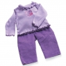 Play-Outfit Lavender T-Shirt and Cords
