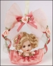 Rosebud Ornament - Baby Darling